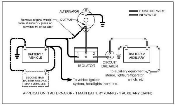 cole hersee battery isolator wiring diagram dual batteries...to isolator or not to isolator ...