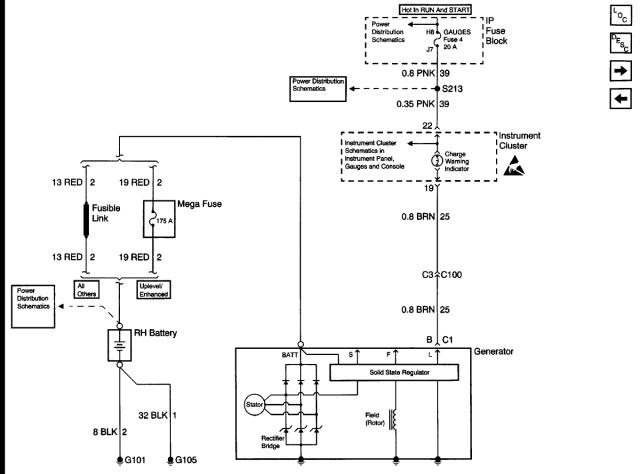 Vortec 454 Alternator Wiring Diagram : Chev ad alternator wiring pirate and