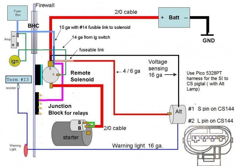 Gm Cs144 Alternator Wiring Diagram
