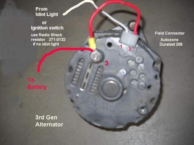 1796185d1433795762 wiring trouble alternator2 wiring trouble pirate4x4 com 4x4 and off road forum how to wire a chevy 4 wire alternator diagram at edmiracle.co