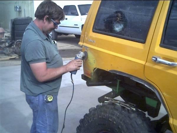 Jeep cherokee xj weight