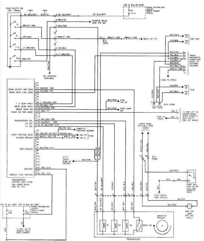 jeep aw4 wiring diagram aw4 tcm wiring diagram wiring diagram schematic  aw4 tcm wiring diagram wiring diagram