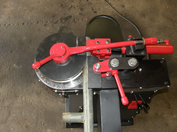 homemade hydraulic chain driven bender