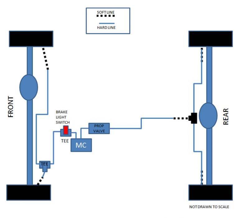 proportioning valve wiring diagram brake plumbing and proportioning valve question pirate4x4 com  brake plumbing and proportioning valve