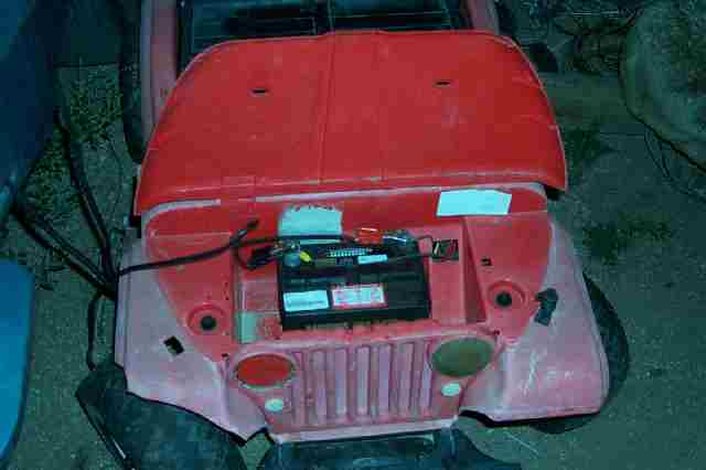 Old Jeep Power Wheels Wiring Diagram on