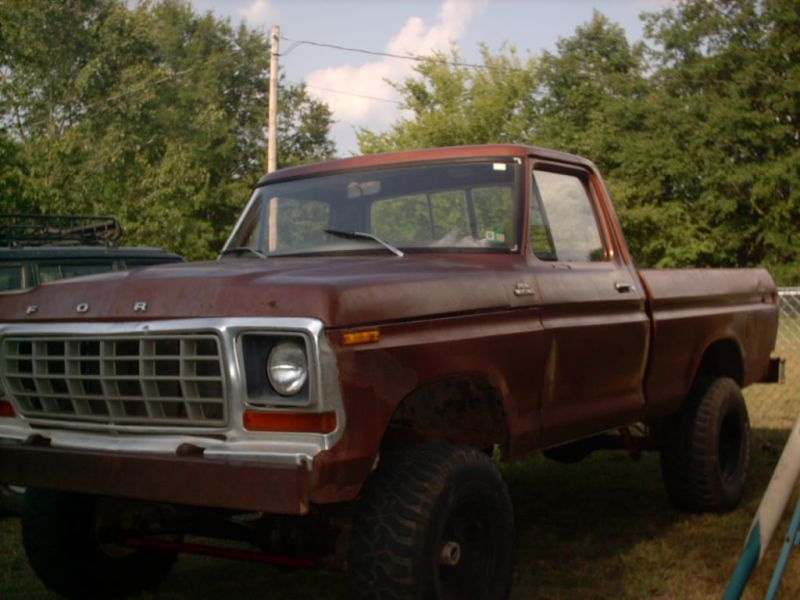 Related Pictures 1978 ford f150 4x4 78 f150 4x4 stepside pictures