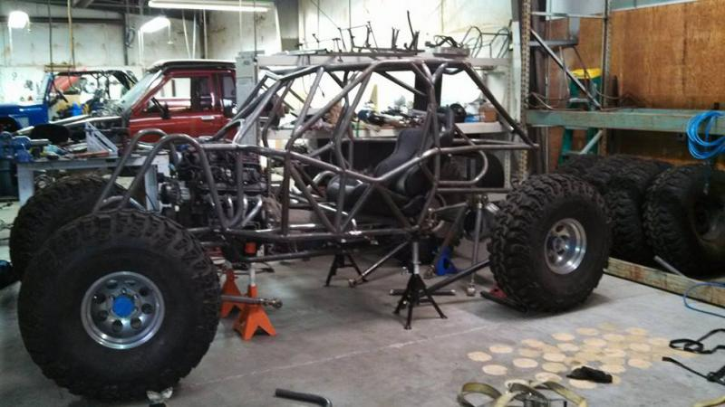 Rock bouncer / racer chassis for sale - Pirate4x4 Com : 4x4 and Off