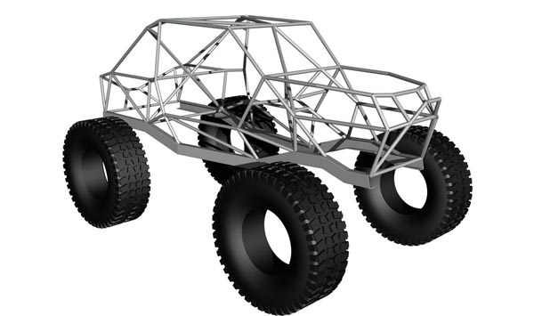 AutoCAD tube chassis design... - Pirate4x4.Com : 4x4 and Off-Road Forum