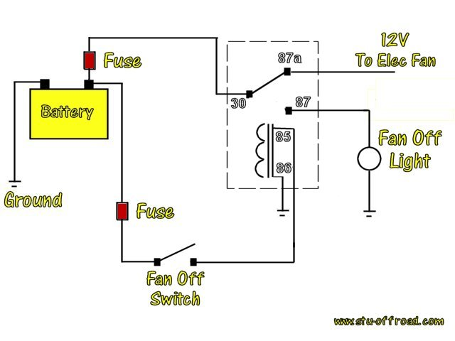 661289d1332470482 relay diagrams bypass 1 relay diagrams pirate4x4 com 4x4 and off road forum 4 prong relay wiring diagram at fashall.co