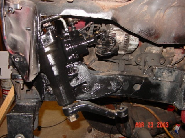 Toyota Cedar Rapids >> Steering box mounting template needed - Pirate4x4.Com : 4x4 and Off-Road Forum