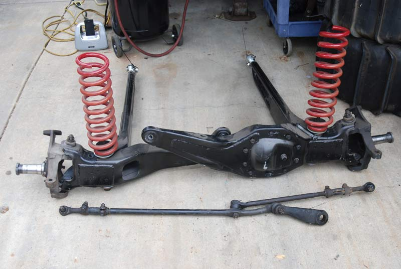 Ford Ranger Prerunner Front Suspension