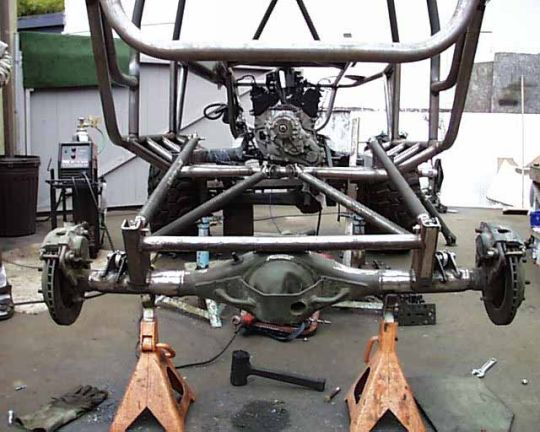 D Triangulated Lower Vs Straight Camo Suspension on 4 Link Suspension Setup