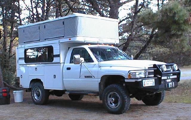 slide in camper on a utility bed - Pirate4x4 Com : 4x4 and Off-Road