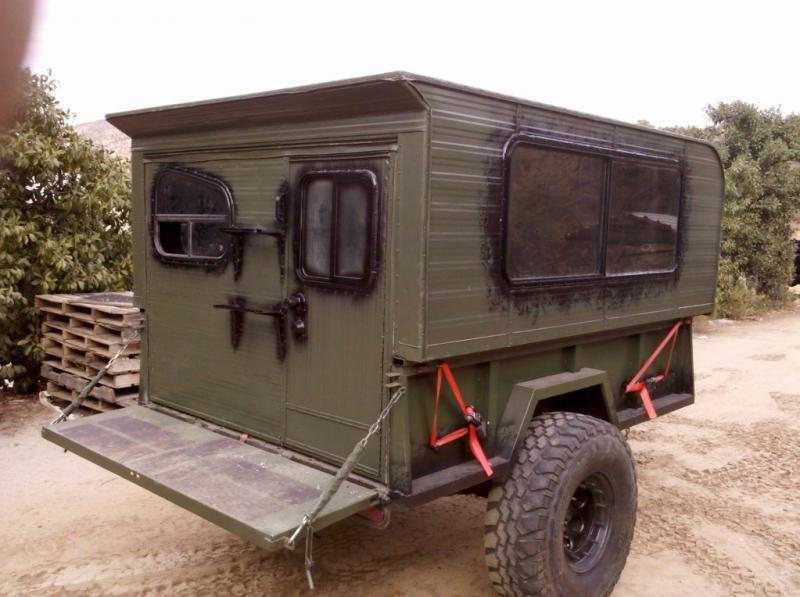 The Doc 14 Tactical Modular Pimpomatic 3000 Camper Build Page 5 Pirate4x4 Com 4x4 And Off Trailer Plans Road