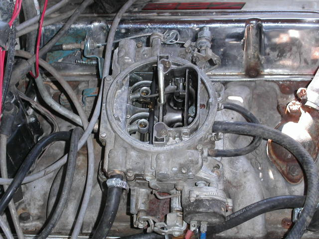 350 wont idle   edelbrock carb? suggestions? - Pirate4x4 Com