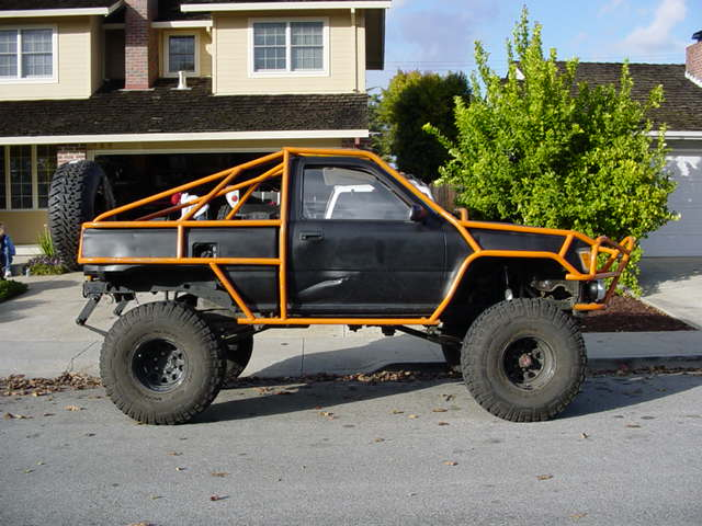 Toyota truck cage - Interior roll cage for toyota pickup ...