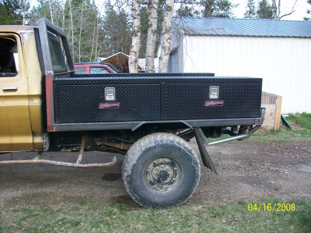 Making A Truck Bed Into A Trailer