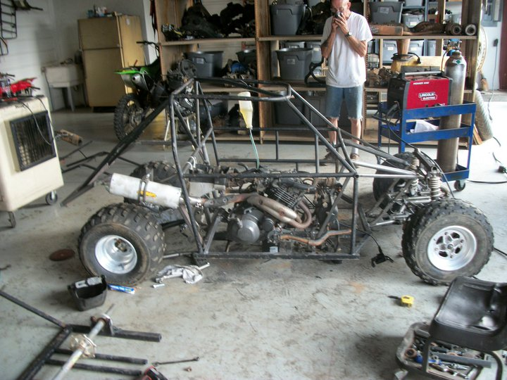 Off Road Go Kart Suspension http://www.pirate4x4.com/forum/general-chit-chat/918457-kart-build-2.html