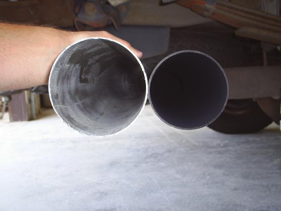 97 PSD 4 Exhaust Install