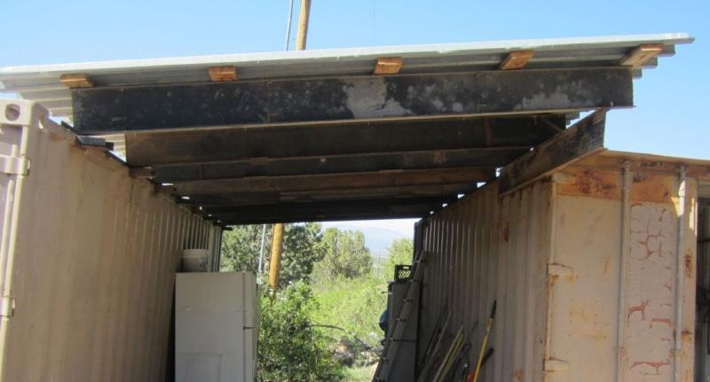 Shipping Container Shed Project Page 2 Pirate4x4 Com