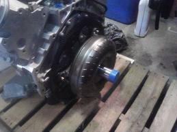 flexplate to torque converter knocking