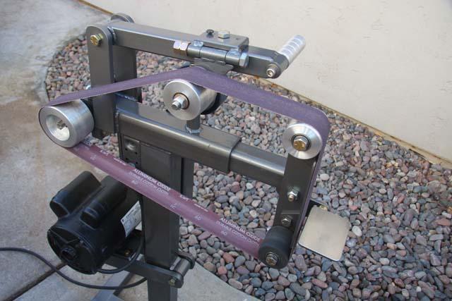 72 belt sander build