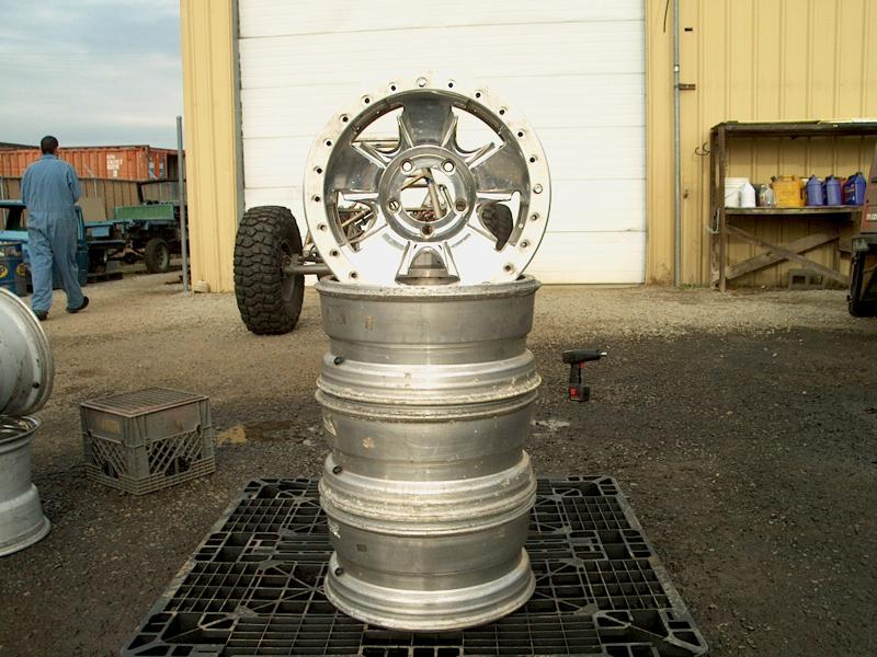 Aluminum Double Beadlock Wheels