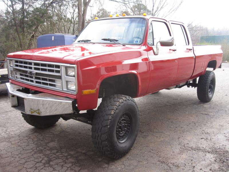 1987 chevy crew cab 4x4 1 ton cummins - Pirate4x4 Com : 4x4 and Off