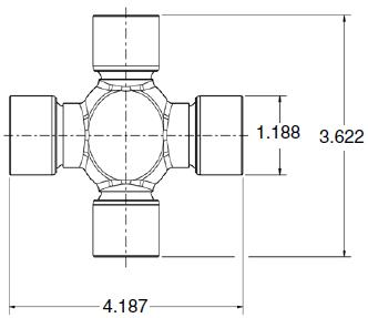 Is there a 1350 to 1410 U joint?? - Pirate4x4 Com : 4x4 and