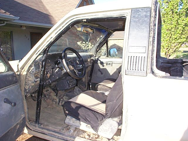 $80 Rollcage, and body damage from that damn 18wheeler