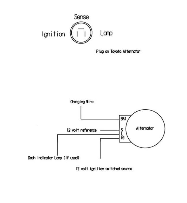 toyota car alternator wiring diagram schematics and wiring diagrams wiring diagram hilux alternator car