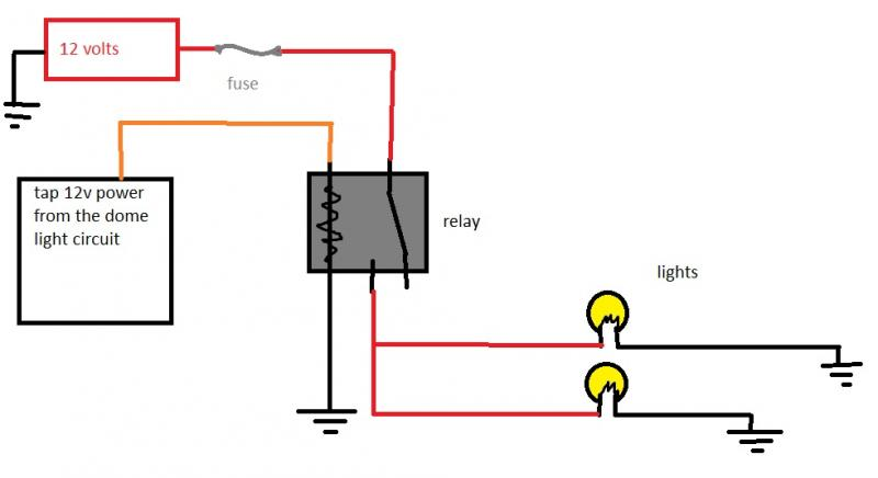 Diagram  Spotlight Wiring Diagram 4 Pin Relay Full