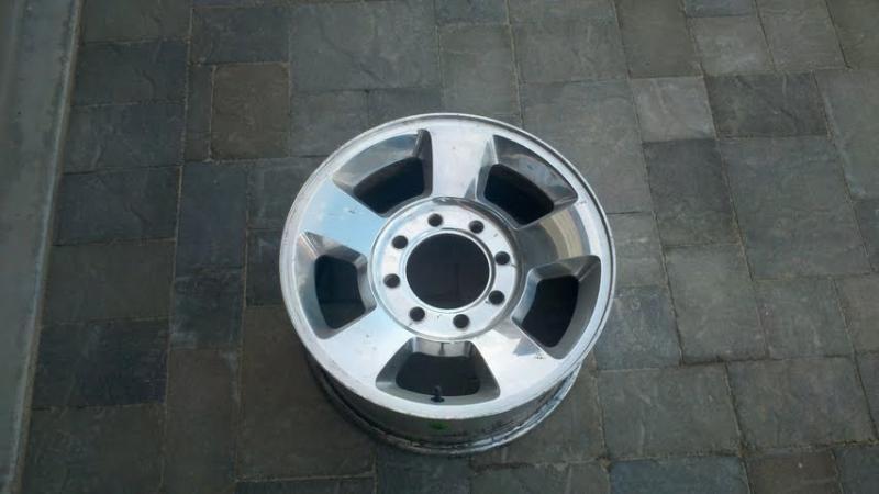 Aluminum 3rd gen Dodge 2500 rims - Great Lakes 4x4  The