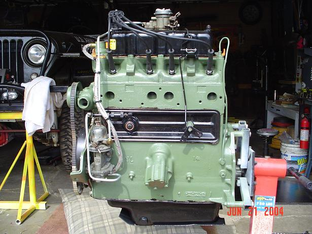 Old School 134 F Head Engine Head Pirate 4x4