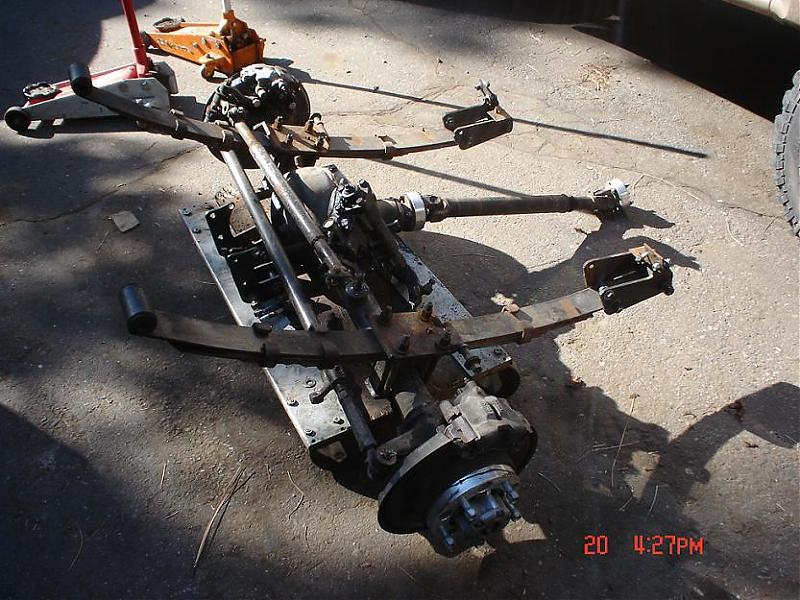 Samurai Front Axle Assembly : Samurai front axle extras pirate and