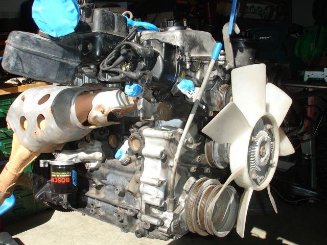 Toyota 3RZ 2 7L Motor/manual ECU/harness- swap ready $500