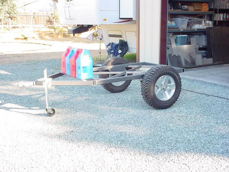 High Clearance Offroad Trailer