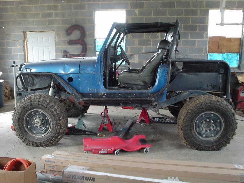 Narrowed And Linked Yj W Rearsteer Build Pirate4x4 Com