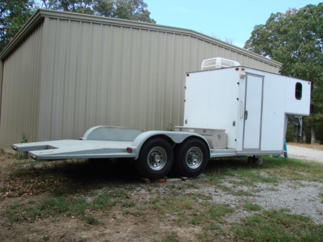 Open Deck Toy Hauler Car Trailer Pirate4x4 Com 4x4 And