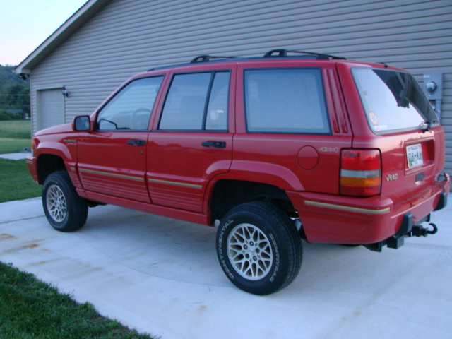 """Jeep Knoxville Tn 1994 jeep grand cherokee w/ 3.5"""" lift - Pirate4x4.Com : 4x4 and Off ..."""