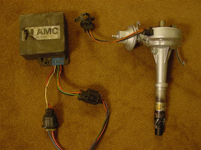 Mallory Distributor Wiring Diagram Amc on