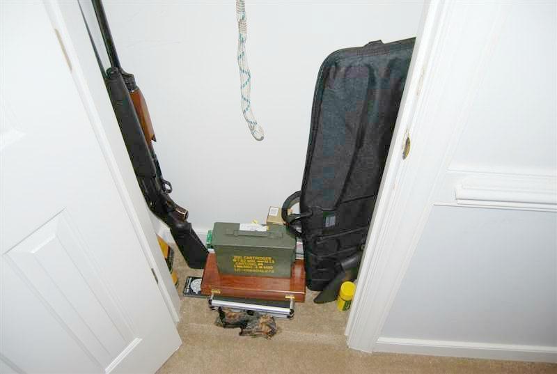 make closet into gun safe 1