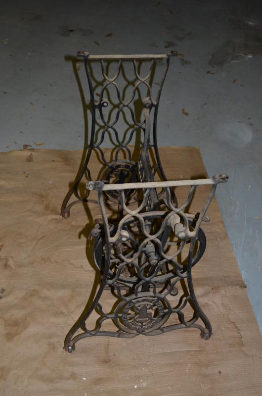 Need Help With Painting Prep Of An Antique Singer Treadle Sewing Extraordinary Sewing Machine Treadle Base