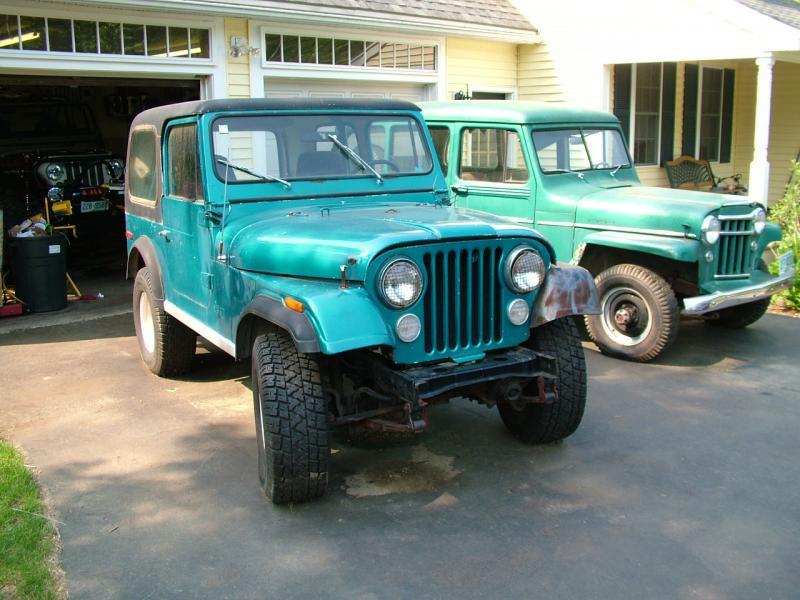 81 CJ7- 258 I6, T-176 4 Speed, CA jeep in NH - Pirate4x4 ...