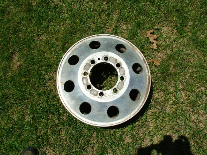 """Alcoa 16"""" Dually rims, fits Chevy, Dodge and Older Ford 8 ..."""