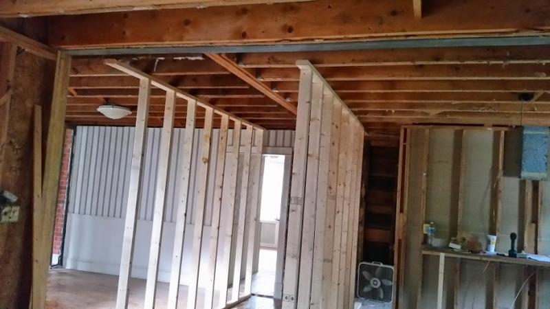 Steel Beam To Replace Load Bearing Wall Pirate4x4 Com