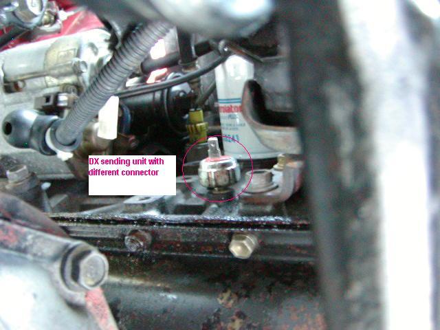 D Installing Re Sr Oil Pressure Sender Dx Sender on 2001 Toyota 4runner Sr5 4x4