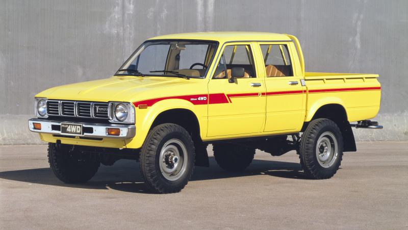 1984-88 Double Cab Frame Diagram