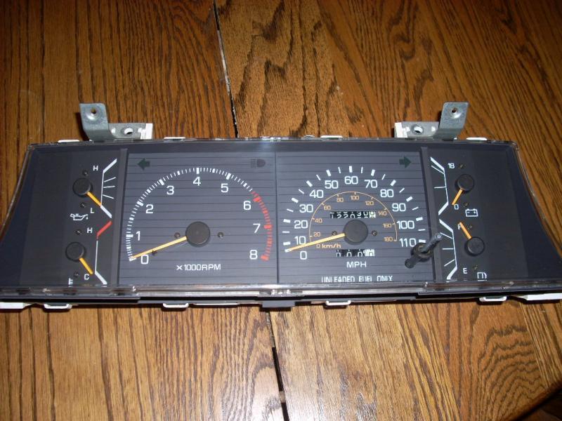 WTB: SR5 gauge cluster (85ish)
