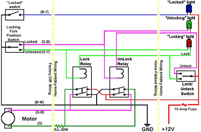 tacoma e locker wiring diagram tacoma image wiring project f runner pirate4x4 com 4x4 and off road forum on tacoma e locker wiring diagram